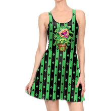 Load image into Gallery viewer, Cute Plant Monster Print Halloween Dress