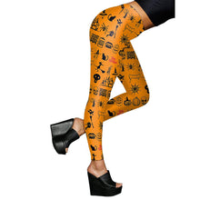 Load image into Gallery viewer, Halloween Digital Print Party LeggingsHalloween Costumes