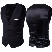 Load image into Gallery viewer, Solid Color Single Breasted Vest (S-6XL)