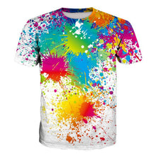 Load image into Gallery viewer, 3D Paint Print Short Sleeve Men's T-Shirt