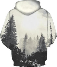 Load image into Gallery viewer, 3D Print Kangaroo Pocket Pullover Hoodie