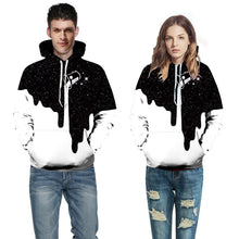 Load image into Gallery viewer, Fashion Milk Cup Pattern Digital Printing Casual Hooded Couple Pullover Hoodie