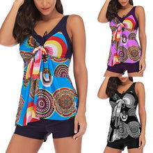 Load image into Gallery viewer, Womens Push-Up Padded Tankini Sets