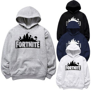 """Fortnite"" Print Pullover Cotton Casual Hoodies"