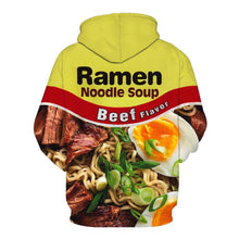 Load image into Gallery viewer, 3D Gourmet Print Cover Guard Hoodie