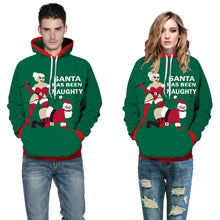 Load image into Gallery viewer, Christmas Spoof Pattern Hooded Sweatshirt