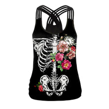 Load image into Gallery viewer, Halloween Pattern Print Sexy Vest Halloween Costumes