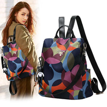 Load image into Gallery viewer, Women Backpack Fashion Anti-theft Waterproof Oxford Multifuction Shoulder Bag