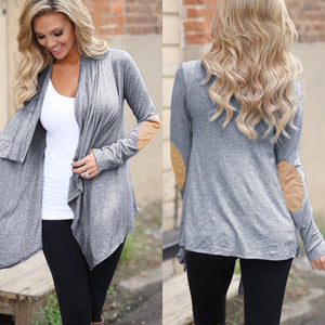 Women's Elbow Patch Cardigan