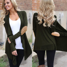 Load image into Gallery viewer, Women's Elbow Patch Cardigan