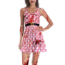 Load image into Gallery viewer, Halloween Horror Zombie Makeup Ball Theme Party Pattern 3d Print Skirt