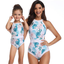 Load image into Gallery viewer, Parent-child Swimsuit Family Matching Swimwear One Piece Swimsuit