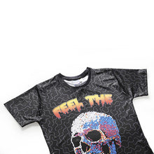 Load image into Gallery viewer, Men's 3D Rock Skull Print Casual T-shirt