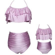 Load image into Gallery viewer, Parent-child Swimsuit Family Matching Swimwear Cute Bikini