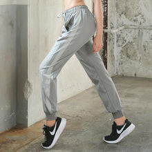 Load image into Gallery viewer, Loose Reflective and Quick-drying Thin Sweatpants
