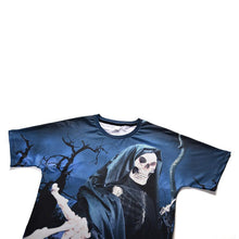 Load image into Gallery viewer, Halloween Men Plus Size 3D Skull Print Casual T-shirt