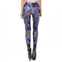 Load image into Gallery viewer, Halloween Printed Leggings Halloween Costumes