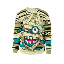 Load image into Gallery viewer, Mummy Print Sweatshirt Stage Tour Halloween Costume