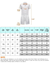 Load image into Gallery viewer, Men's Beige Color Casual Short Sleeve Shirt One Piece Romper