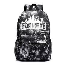 Load image into Gallery viewer, Fortnite Printed Luminous School Canvas Backpacks