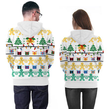 Load image into Gallery viewer, Christmas Printed Hooded Christmas Sweatshirt