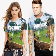 Load image into Gallery viewer, FORTNITE Printed Casual Short Sleeve T-shirt