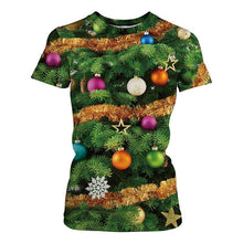 Load image into Gallery viewer, Christmas Style Print T-Shirt (S-3XL)