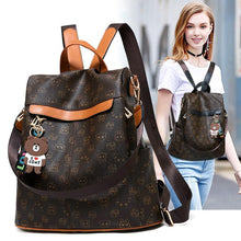 Load image into Gallery viewer, Women Backpack Purse Anti-theft Rucksack Lightweight Travel Shoulder Bag
