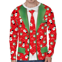 Load image into Gallery viewer, Christmas Cosplay T-shirt Ugly Christmas