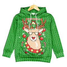 Load image into Gallery viewer, Christmas Cartoon 3D Printed Children's Long Sleeve Tops
