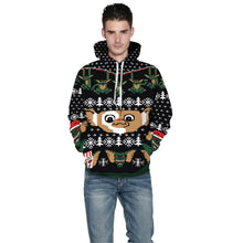 Load image into Gallery viewer, Little Monster Print Christmas Hoodie