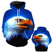 Load image into Gallery viewer, Eagle Print Hoodie