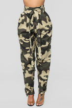 Load image into Gallery viewer, New Loose Casual Pants High Waist Camouflage Camo Pants