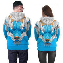 Load image into Gallery viewer, 3D Wolf Print Hooded Sweatshirt