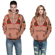 Load image into Gallery viewer, Ugly Christmas Print Unisex Hoodie