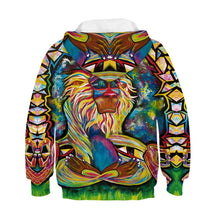 Load image into Gallery viewer, Children's Color Lion Print Hoodie
