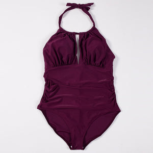Plus Szie L-4XL One-piece Swimsuit