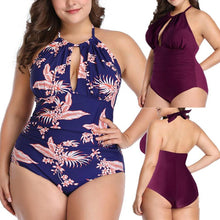 Load image into Gallery viewer, Plus Szie L-4XL One-piece Swimsuit