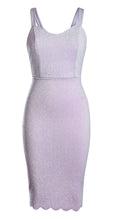 Load image into Gallery viewer, litter Sleeveless Party Bodycon Sequined Shinning Dress
