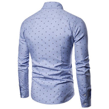 Load image into Gallery viewer, Anchor Print Casual Long Sleeve Shirt