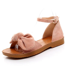 Load image into Gallery viewer, Soft Bottom Bow Beach Sandals