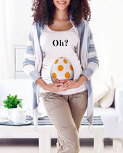 Load image into Gallery viewer, Summer Maternity Tops Oh Maternity Funny T Shirts