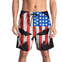 Load image into Gallery viewer, Men's 3D Flag Taro Print Casual Shorts
