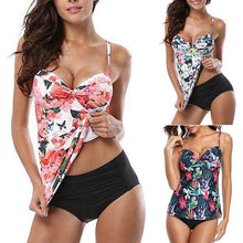 Load image into Gallery viewer, Sexy Print Tankini Set