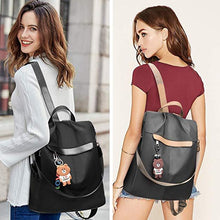 Load image into Gallery viewer, Women Anti-theft Rucksack Lightweight Backpack Purse Travel Shoulder Bag