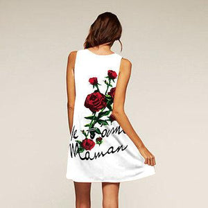 Fashion Summer Beach Mini Dress