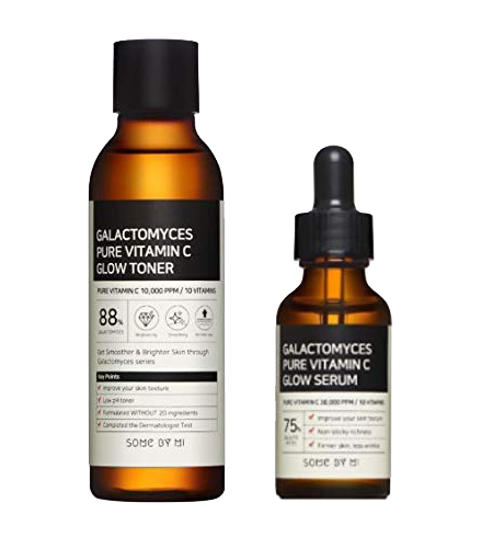 GALACTOMYCES PURE VITAMIN C GLOW TONER + SERUM SET