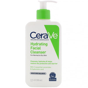 Cerave Hydrating Facial Cleanser 12oz