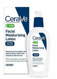 CeraVe PM Facial Moisturizing Lotion 3oz