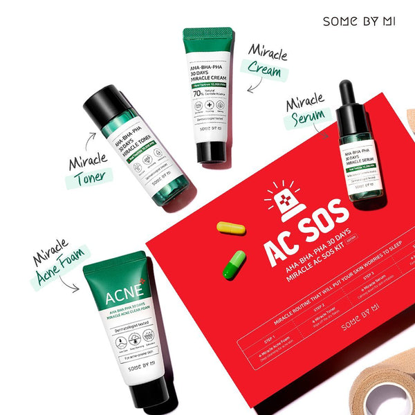 AHA-BHA-PHA 30 DAYS MIRACLE AC SOS KIT
